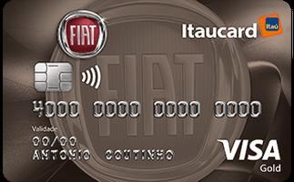 Cartão de Crédito FIAT Itaucard Gold Visa