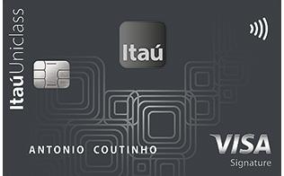Cartão de Crédito Itaú Uniclass Visa Signature