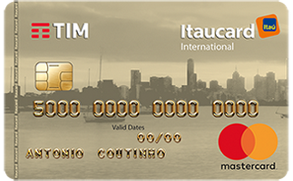 Cartão de Crédito TIM Itaucard Internacional MasterCard