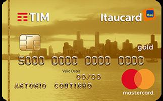 Cartão de Crédito TIM Itaucard Gold MasterCard