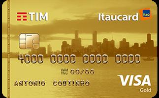 Cartão de Crédito TIM Itaucard Gold Visa