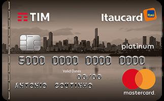 Cartão de Crédito TIM Itaucard Platinum MasterCard