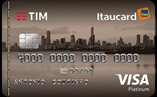 Cartão de Crédito TIM Itaucard Platinum Visa