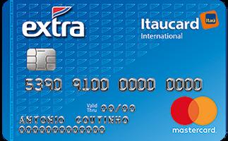 Cartão de Crédito EXTRA Itaucard International MasterCard